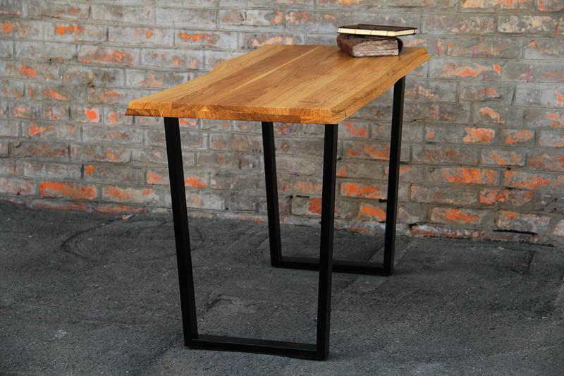 Дизайнерский лакированный стол из дерева офисный письменный стол - Фото 3