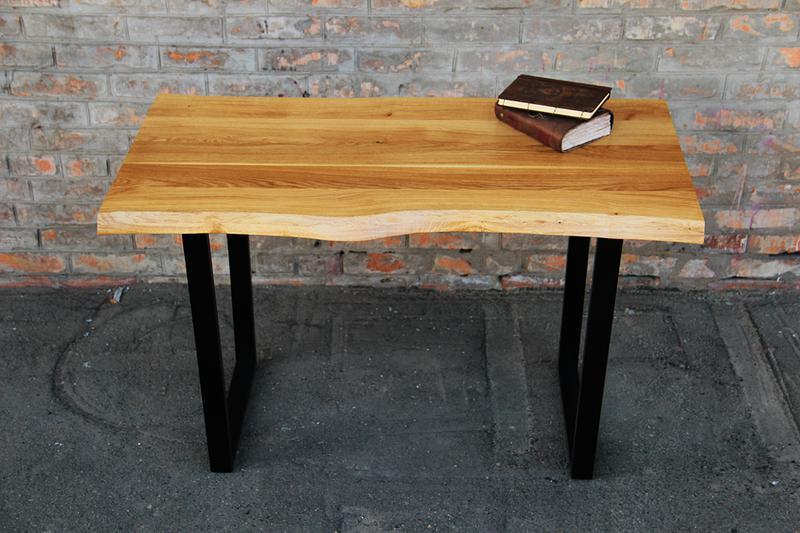 Дизайнерский лакированный стол из дерева офисный письменный стол - Фото 4