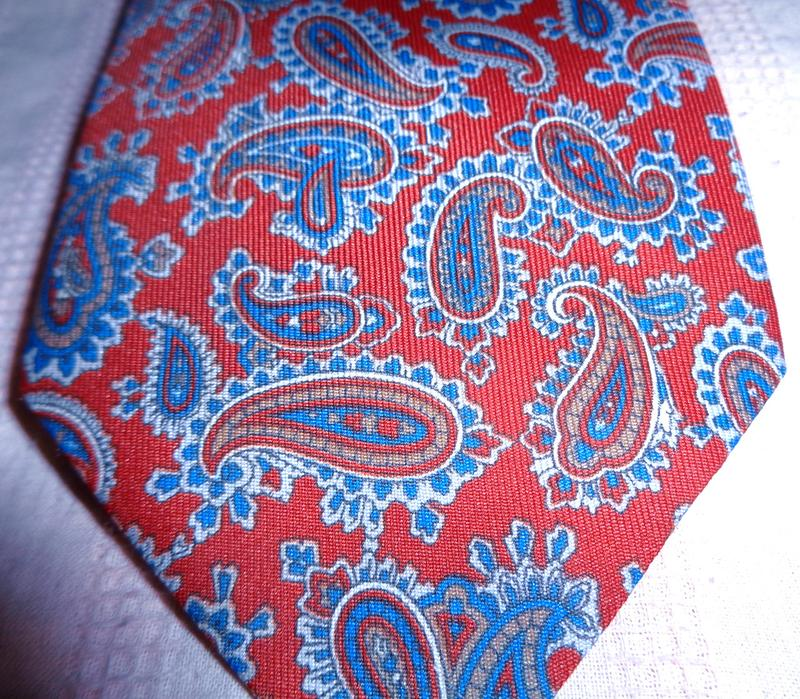Роскошный галстук Англия огурцы paisley