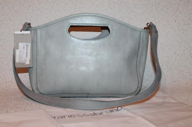 Роскошная кожаная сумка от vanessa bruno италия новая с биркам... - Фото 2