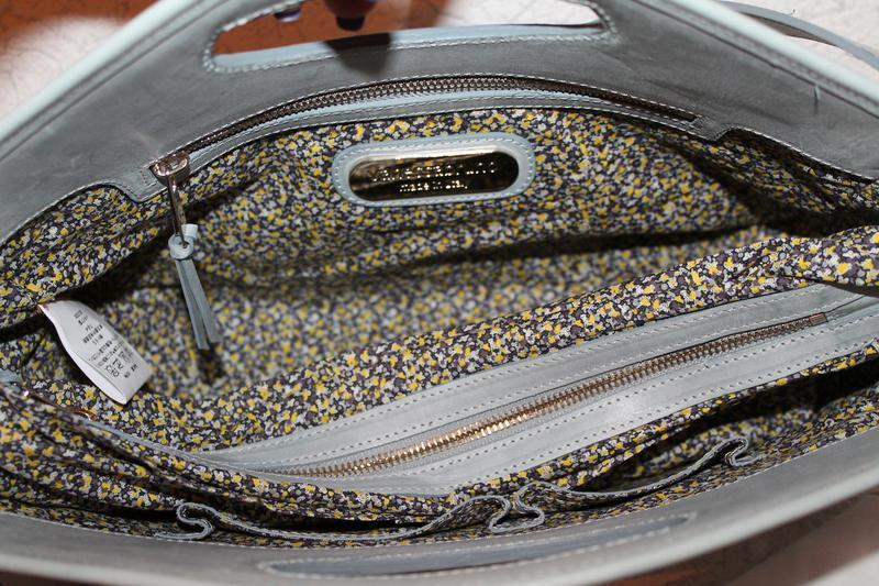 Роскошная кожаная сумка от vanessa bruno италия новая с биркам... - Фото 4