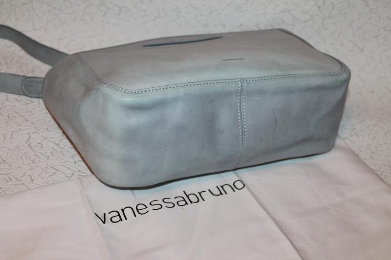 Роскошная кожаная сумка от vanessa bruno италия новая с биркам... - Фото 5