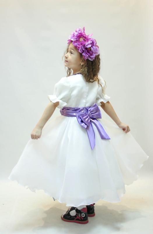 Весеннее платье для вашей принцессы! - Фото 2