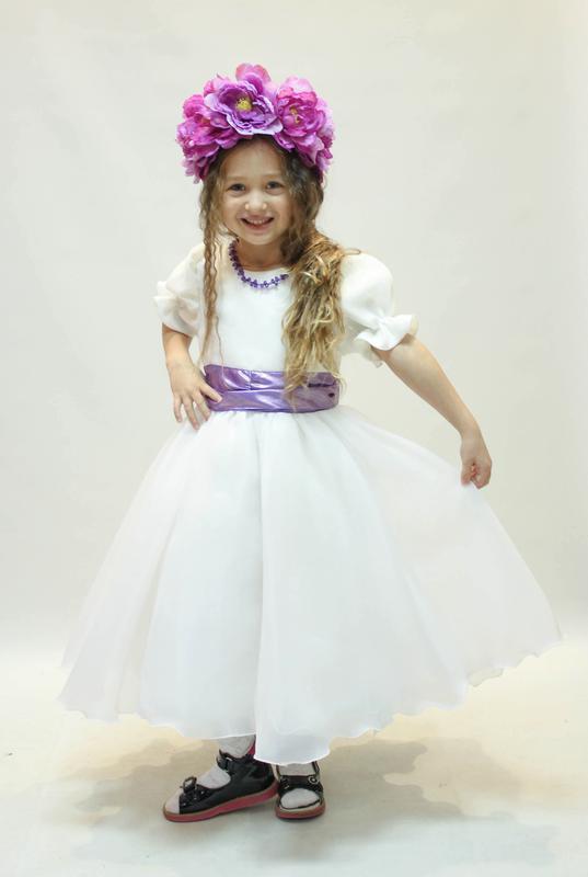 Весеннее платье для вашей принцессы! - Фото 3