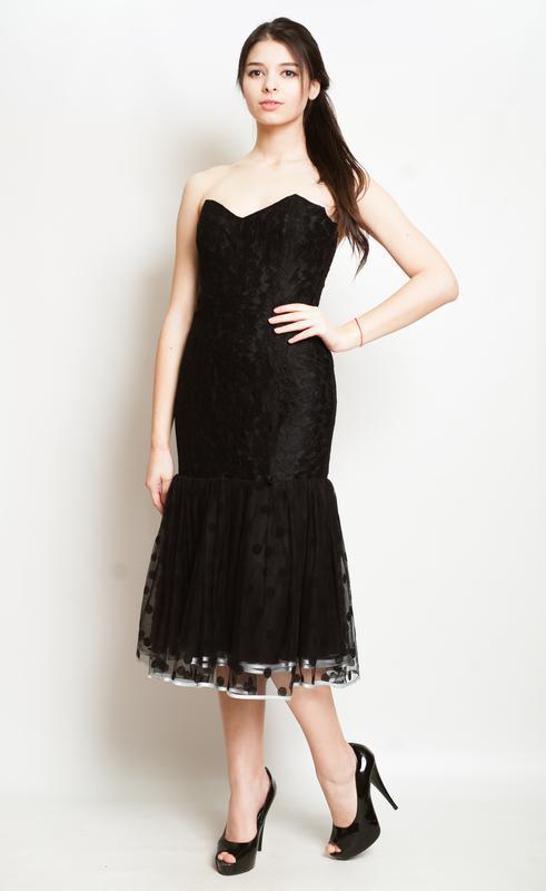 Платье в бархатный кружочек, настоящий тренд сезона!