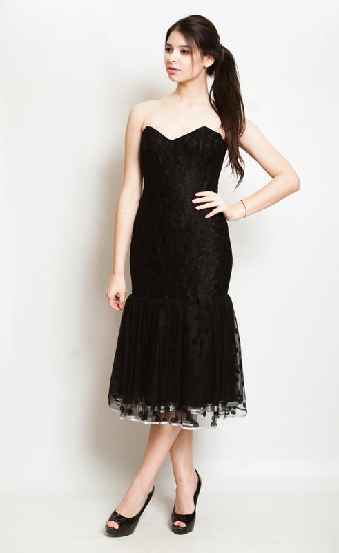 Платье в бархатный кружочек, настоящий тренд сезона! - Фото 2