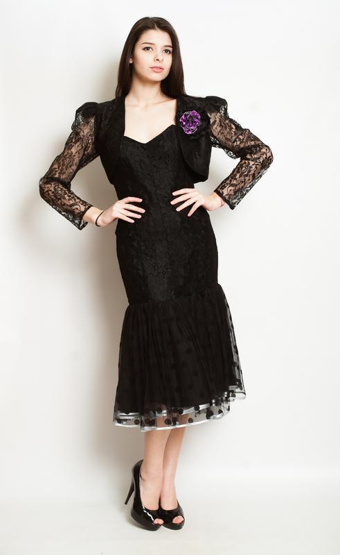 Платье в бархатный кружочек, настоящий тренд сезона! - Фото 3