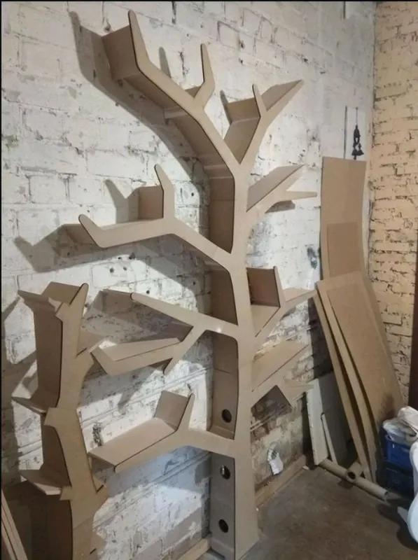 Полка-дерево, Tree Bookshelf.