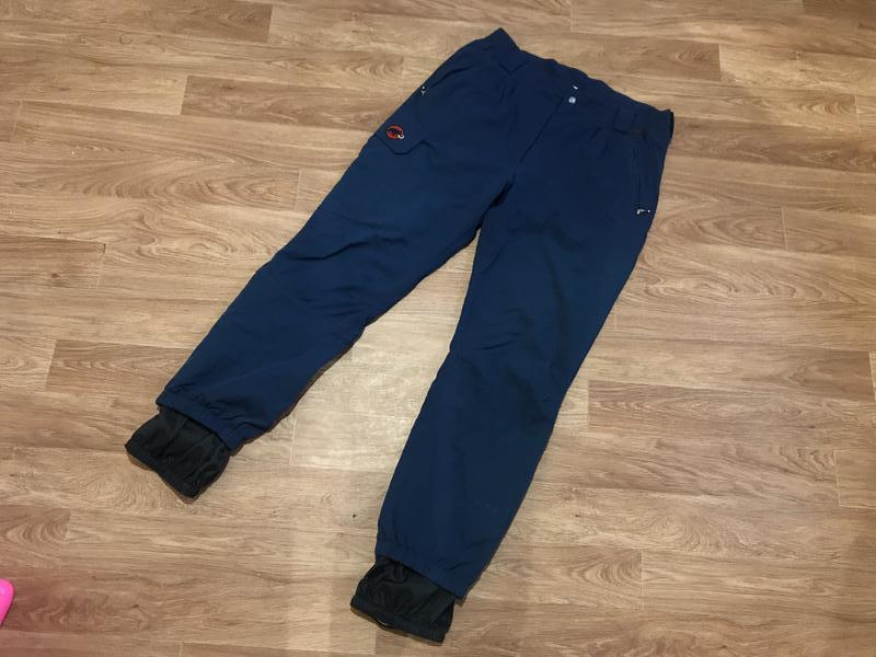 Улётные трекинговые (горнолыжные) штаны от mammut
