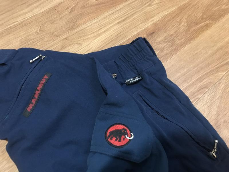 Улётные трекинговые (горнолыжные) штаны от mammut - Фото 3