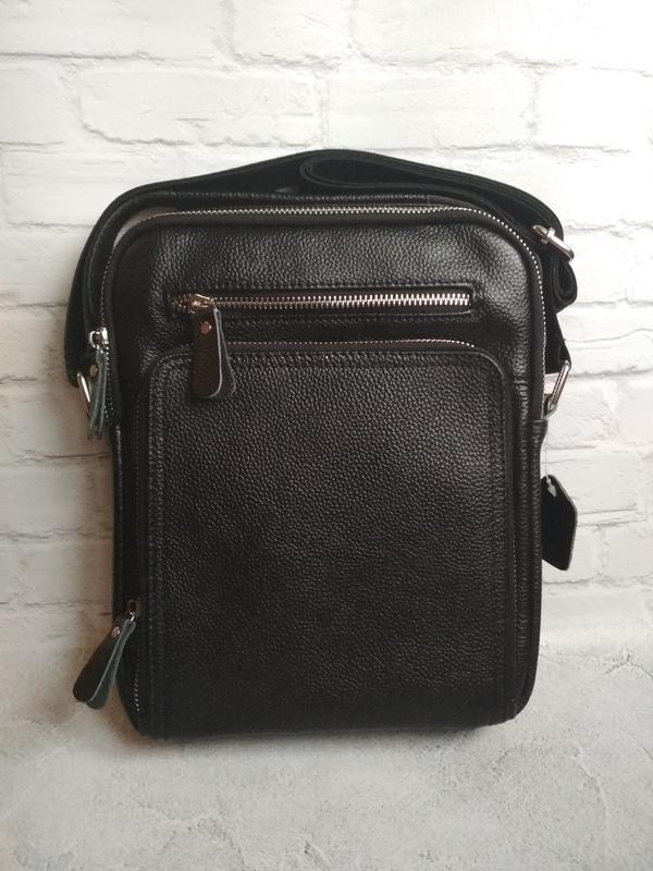 Мужская кожаная сумка чоловіча шкіряна сумка