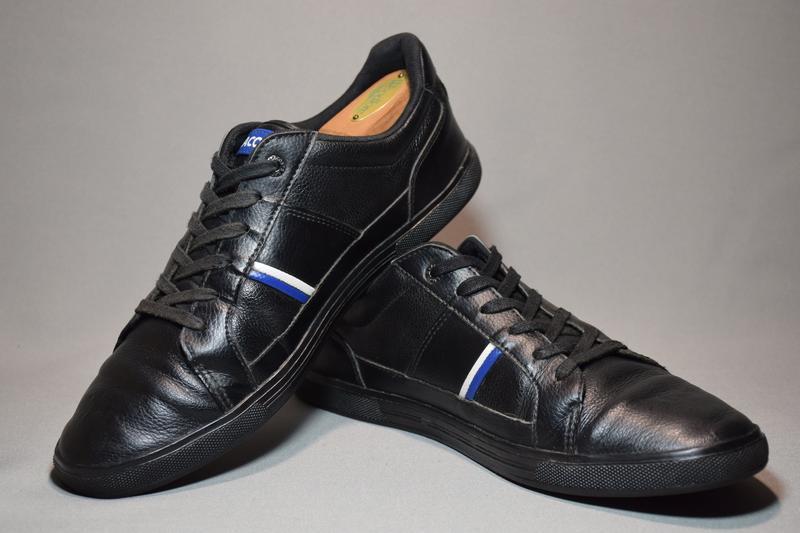 Кроссовки lacoste europa кеды мужские кожаные. таиланд. оригин... - Фото 4