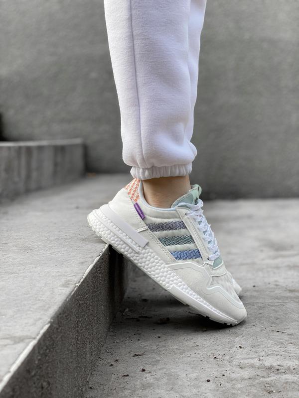Шикарные женские кроссовки/ кеды adidas zx 😍 (весна/ лето/ осень)