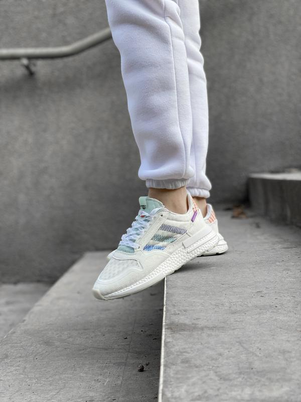 Шикарные женские кроссовки/ кеды adidas zx 😍 (весна/ лето/ осень) - Фото 5