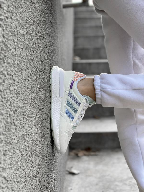 Шикарные женские кроссовки/ кеды adidas zx 😍 (весна/ лето/ осень) - Фото 8
