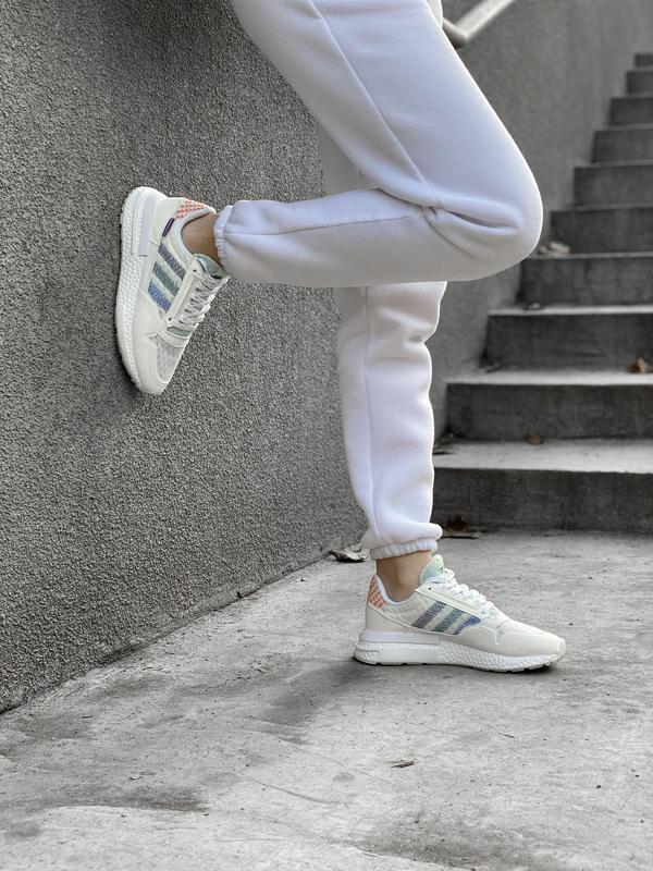 Шикарные женские кроссовки/ кеды adidas zx 😍 (весна/ лето/ осень) - Фото 10