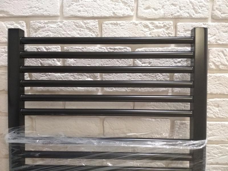 Полотенцесушитель черный лофт,рушникосушка черна - Фото 3