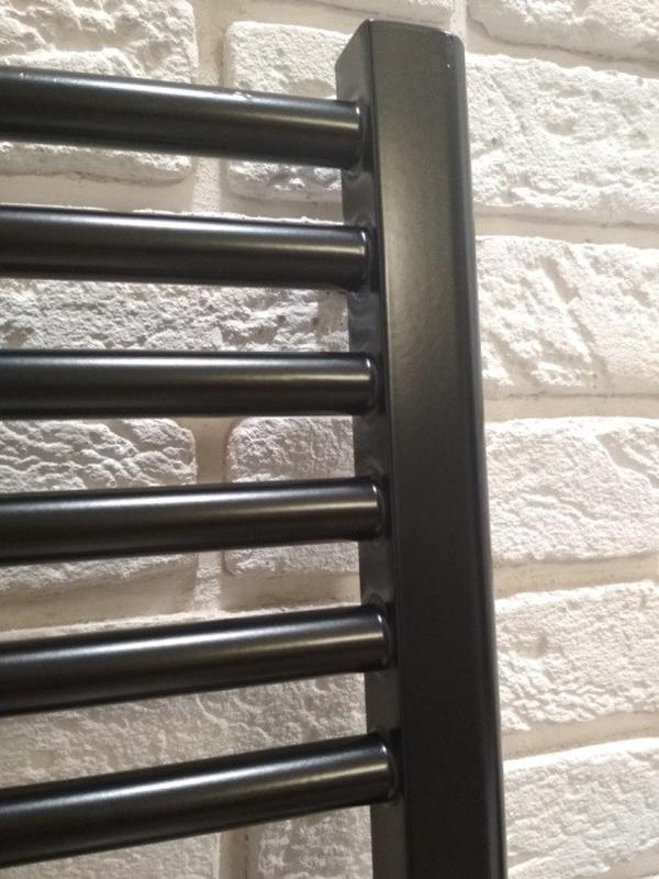 Полотенцесушитель черный лофт,рушникосушка черна - Фото 4
