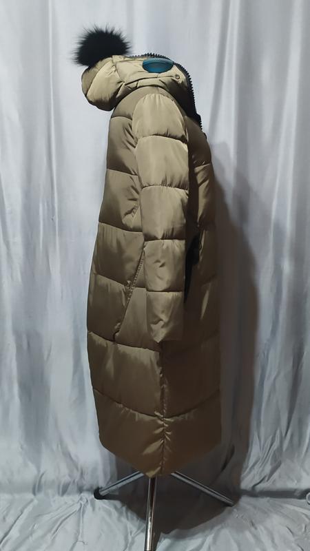 Длинный пуховик , пальто зимнее - Фото 2