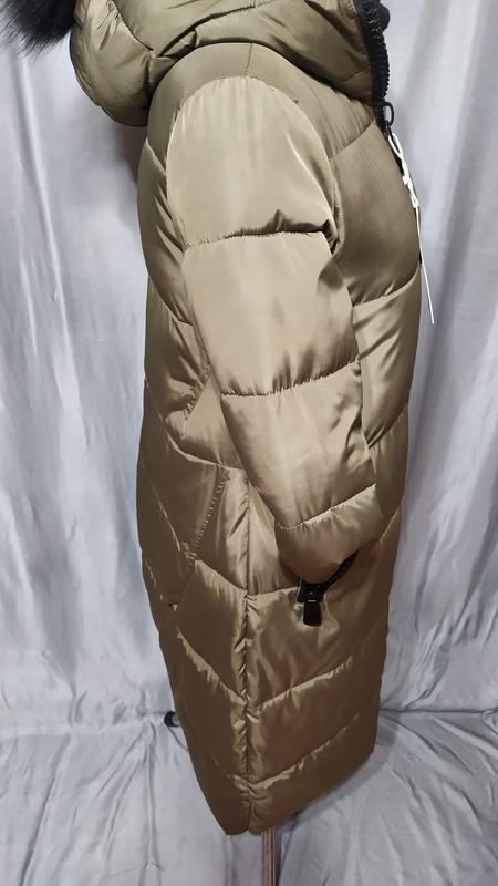 Длинный пуховик , пальто зимнее - Фото 5