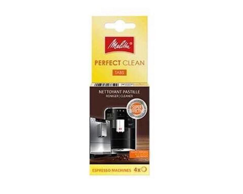 Таблетки от кофейных масел/жиров Melitta Perfect Clean, 4 шт