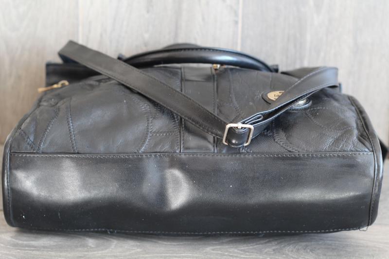 Шикарная кожаная сумка david moda - Фото 3