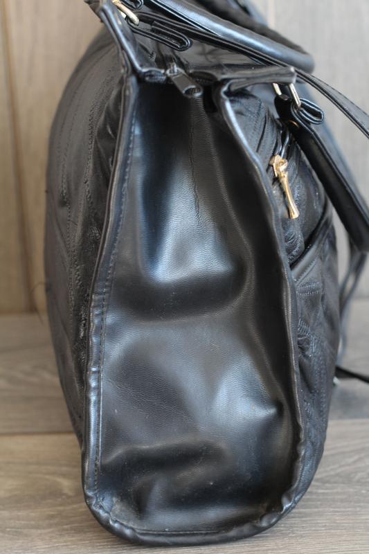 Шикарная кожаная сумка david moda - Фото 4