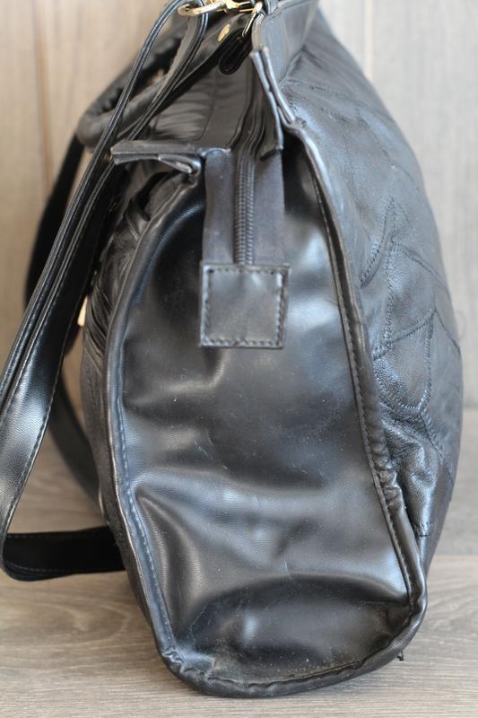 Шикарная кожаная сумка david moda - Фото 5