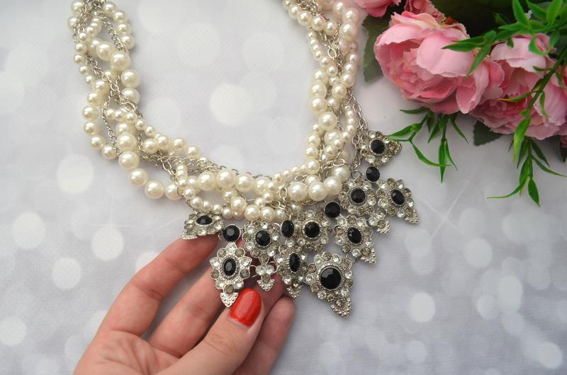 Массивное жемчужное ожерелье zara - Фото 4
