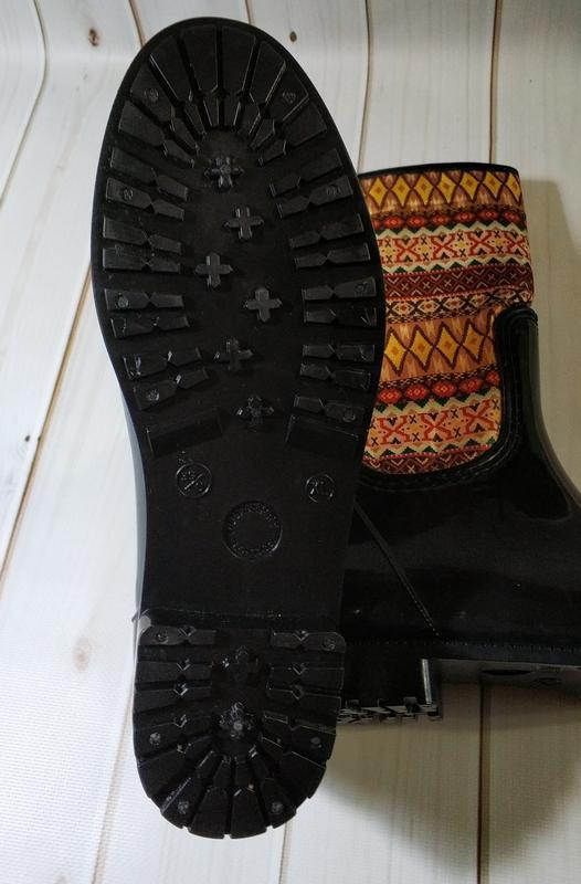 Женские резиновые утепленные сапоги,полусапоги,ботинки - Фото 4
