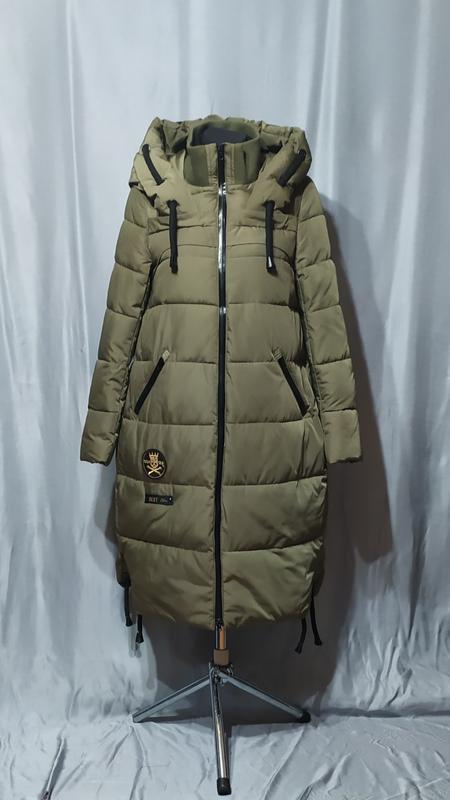 Длинный пуховик , зимнее пальто