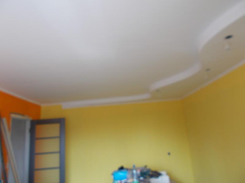 Покраска стен, потолков, рогожки