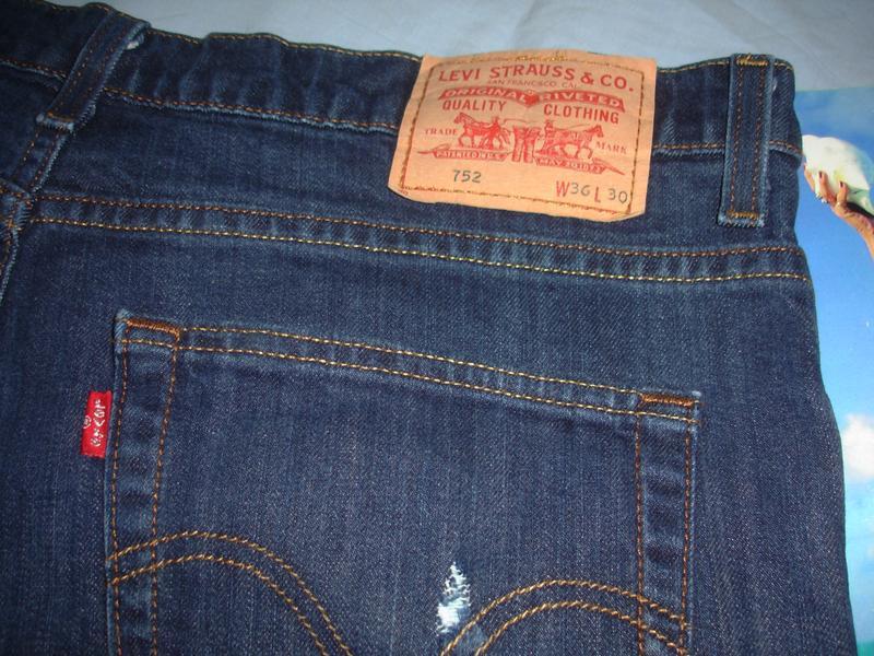 Мужские шорты джинсовые размер w36 w 36 размер 50-52 короткие ... - Фото 5