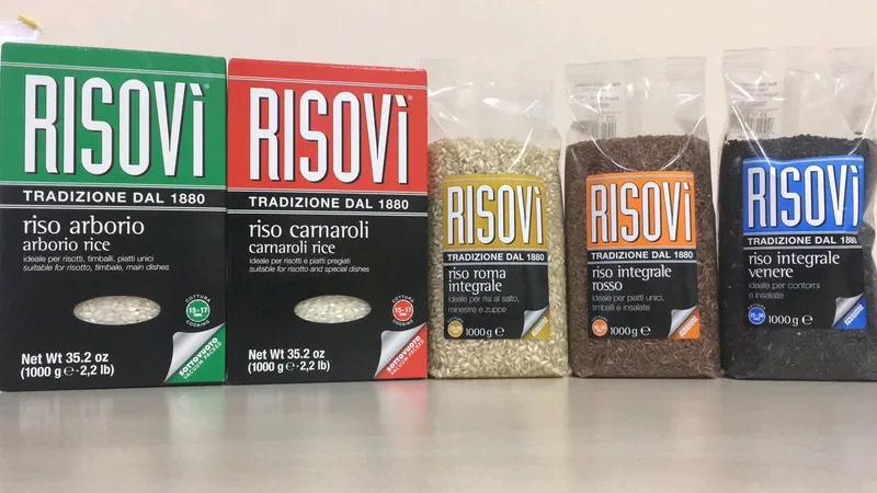 Рис Risovi Riso Integrale Venere 1 Кг - черный рис - Фото 2