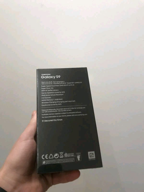 Samsung Galaxy S9 64GB - Фото 2