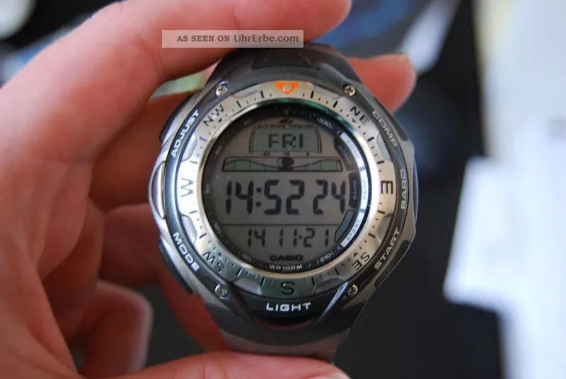 Часы наручные мужские Casio касио Sea Pathfinder SPF-40T-7VER - Фото 3