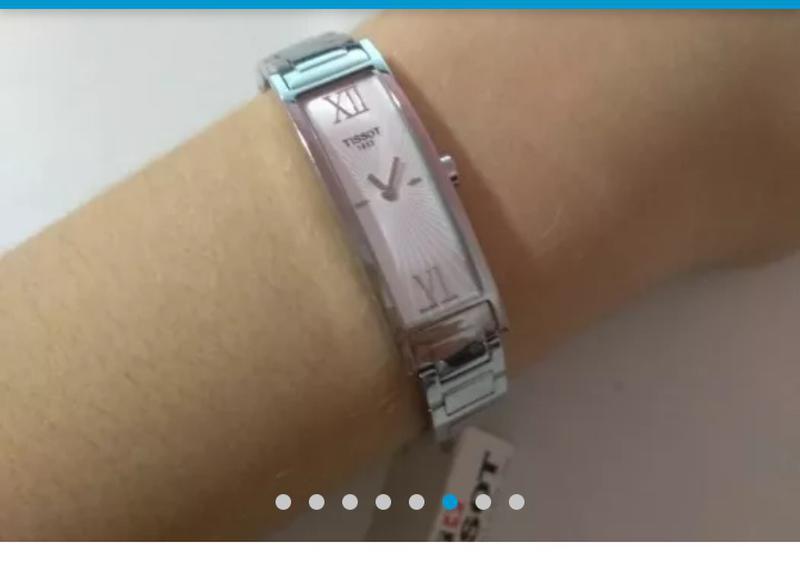 Часы наручные женские швейцарские (оригинал)TISSOT T015.309.11.03 - Фото 2