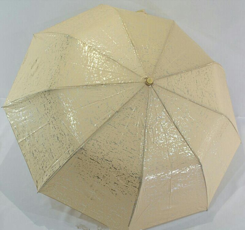 """Зонт полуавтомат """"серебряная абстракция"""", антиветер."""