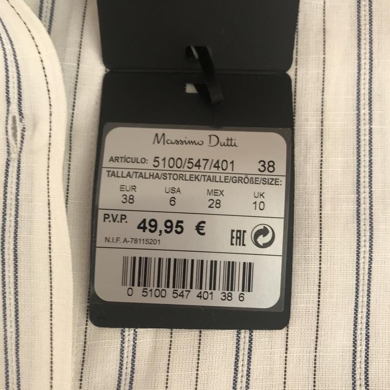 Рубашка massimo dutti. оригінал - Фото 4