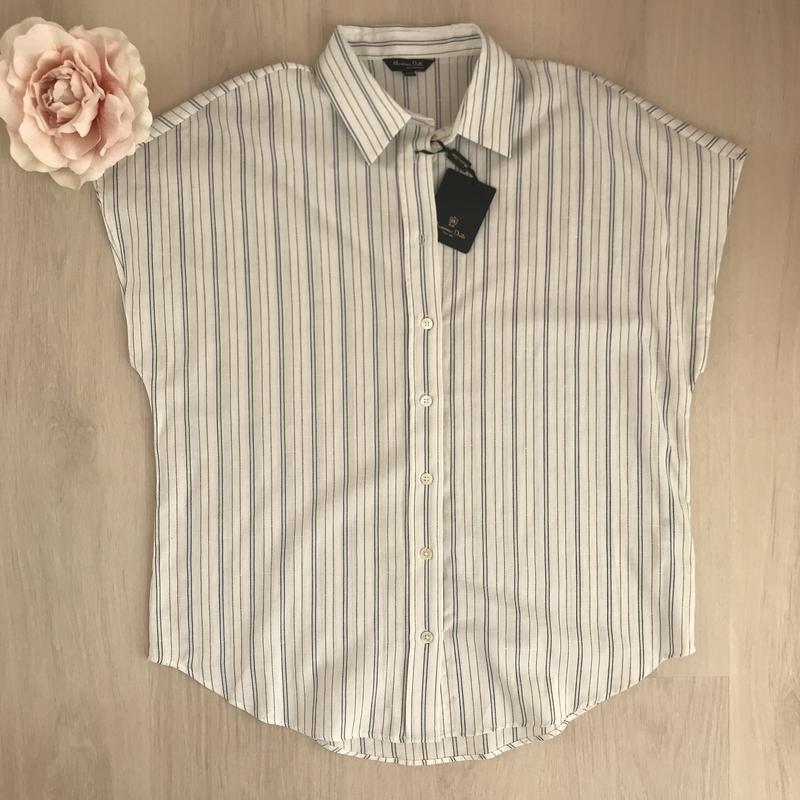 Рубашка massimo dutti. оригінал - Фото 5