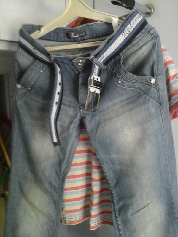 Джинсы denim wear/ s-m - Фото 2