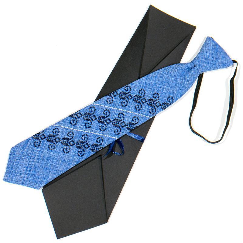 Дитяча вишита краватка №774 - Фото 3