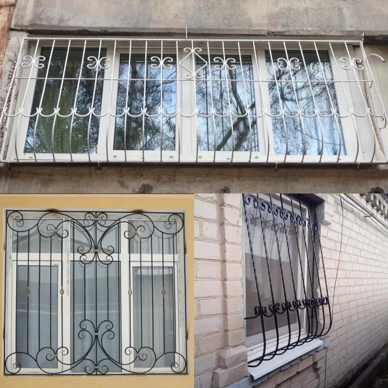 Решетки на окна, откатные ворота, навесы, металлоконструкции. - Фото 5