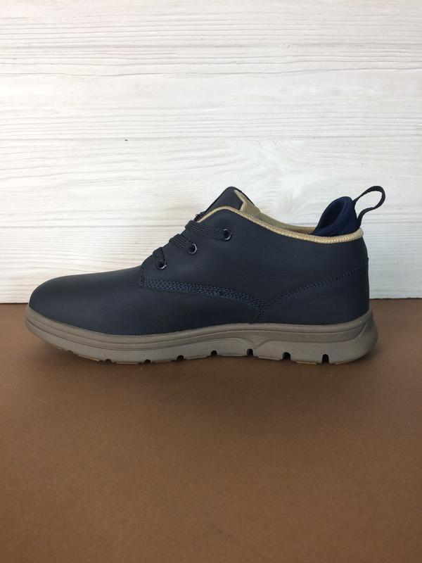 Теплые мужские зимние кожаные ботинки кеды sayota! распродажа ... - Фото 5