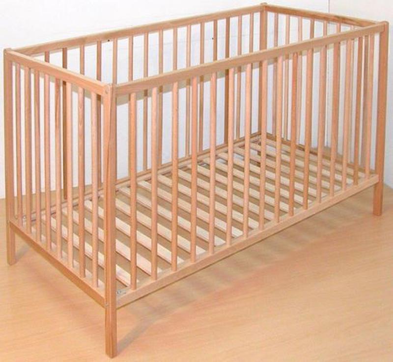 Ліжко дитяче з натурального дерева, кроватка детская деревянна...
