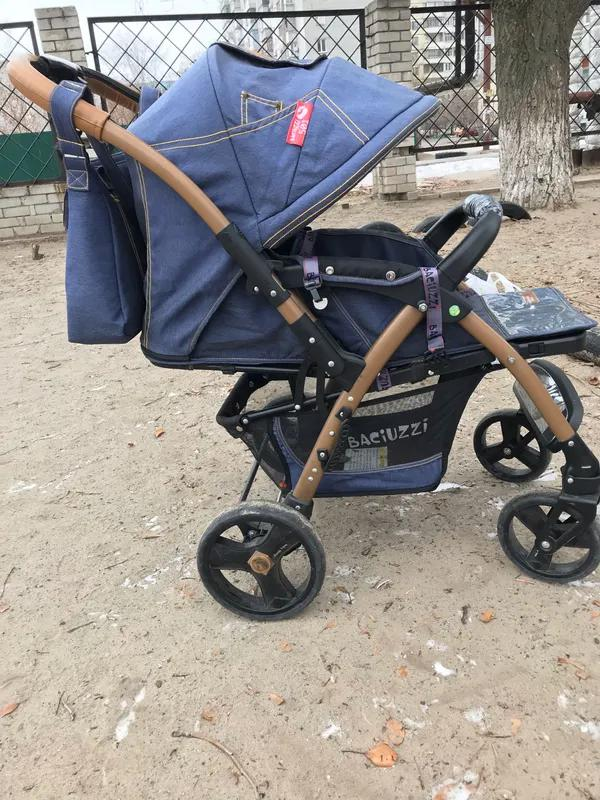 Детская прогулочная коляска - Фото 2