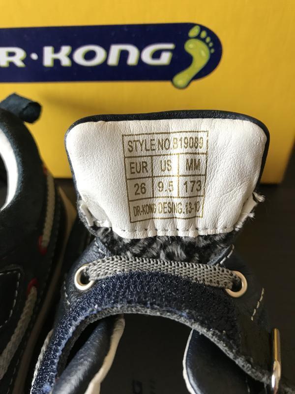 Черевички, ботинки dr. kong - Фото 3