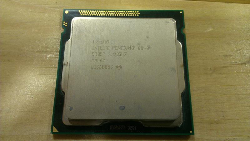 Процессор Intel Pentium G840 socket 1155
