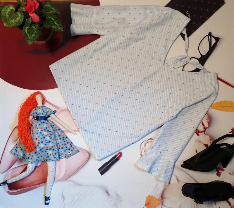 Модная блуза falmer heritage, хлопок, размер 20 - Фото 2