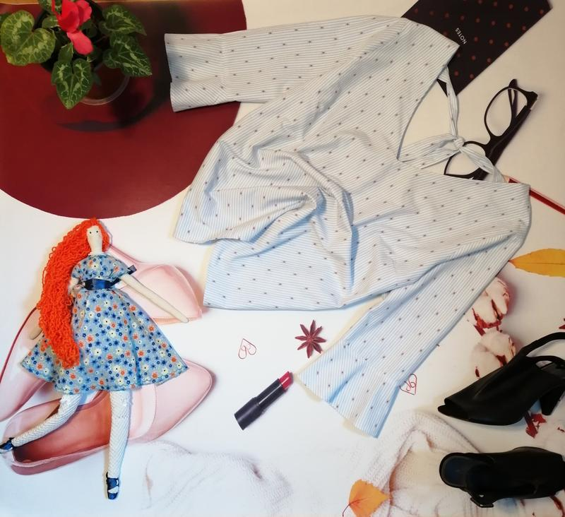Модная блуза falmer heritage, хлопок, размер 20 - Фото 4